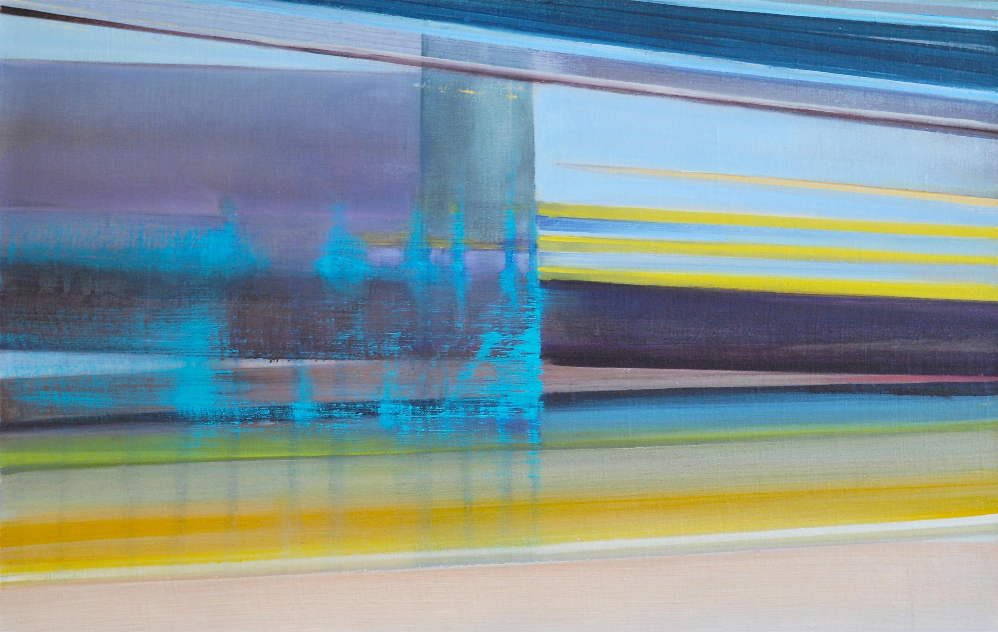 Riikka Ahlfors art painting taide maalaus untitled1, 69 cm x 44,5 cm, oil on canvas, 2012