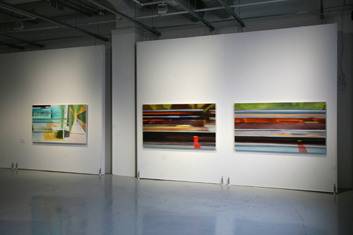 Riikka Ahlfors art painting taide maalaus 2013_Fold_From-the-station1and2_All-of-a-sudden_Riikka-Ahlfors