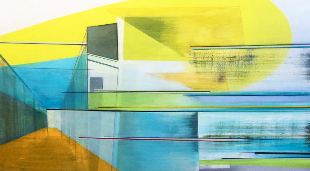 Fold-ed, 110 cm x 198cm, 2015