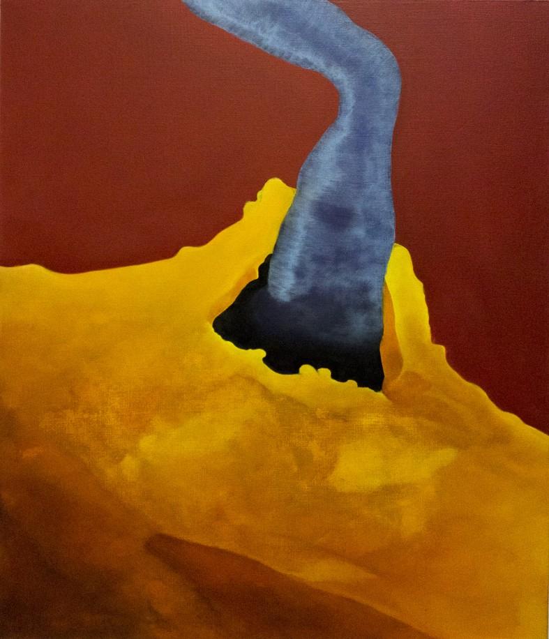 Winner, 96 cm x 83 cm, tempera and oil colour on canvas, 2017